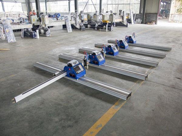 180 W kaasaskantav CNC-plasmalõikusmasin paksu metalli lõikamiseks 6–150mm