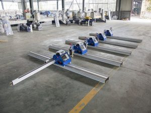 2 * 3m kaasaskantav Hiina tegi väikese odavalt madala hinnaga cnc-plasma lõikamismasina