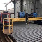 automatiseeritud cnc-plasma lõikamismasin, topelt sõidetav, 4 m laiusega 15 m rööpad