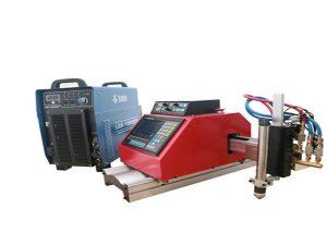 Roostevabast terasest alumiiniumist automaatne kaasaskantav CNC-plasma lõikamismasin