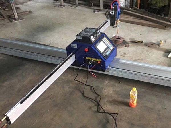 Hiina Odav 15002500mm metallist kaasaskantav CNC plasma lõikamismasin CE-ga