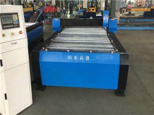 Hiina Huayuan 100A plasma lõikamisega CNC-masin 10 mm plaatmetallist