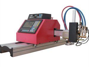 multifunktsionaalne ruudukujuline terastoru profiil cnc leegi / plasma lõikamismasin kõrge kvaliteediga
