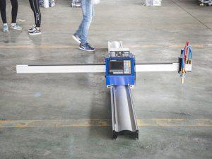 Uue tehnoloogiaga kaasaskantav tüüpi cnc-plasma lõikamismasin on väikeettevõtte tootmismasinate hind