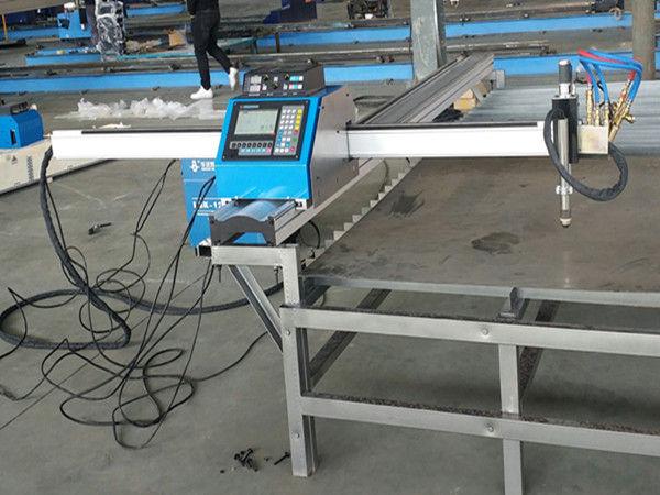 Kaasaskantav cnc plasma lõikamismasin majanduslik hind - metalli lõikamismasin
