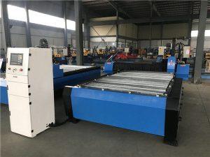 Kaubanduse tagamine odavate hindadega kaasaskantav lõikur Cnc plasma lõikamismasin roostevabast terasest matelraua jaoks