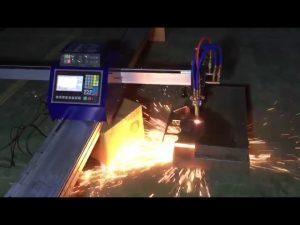 odav mini kaasaskantav cnc-toru leegiga plasma lõikamismasin roostevabast terasest metalli lõikamiseks